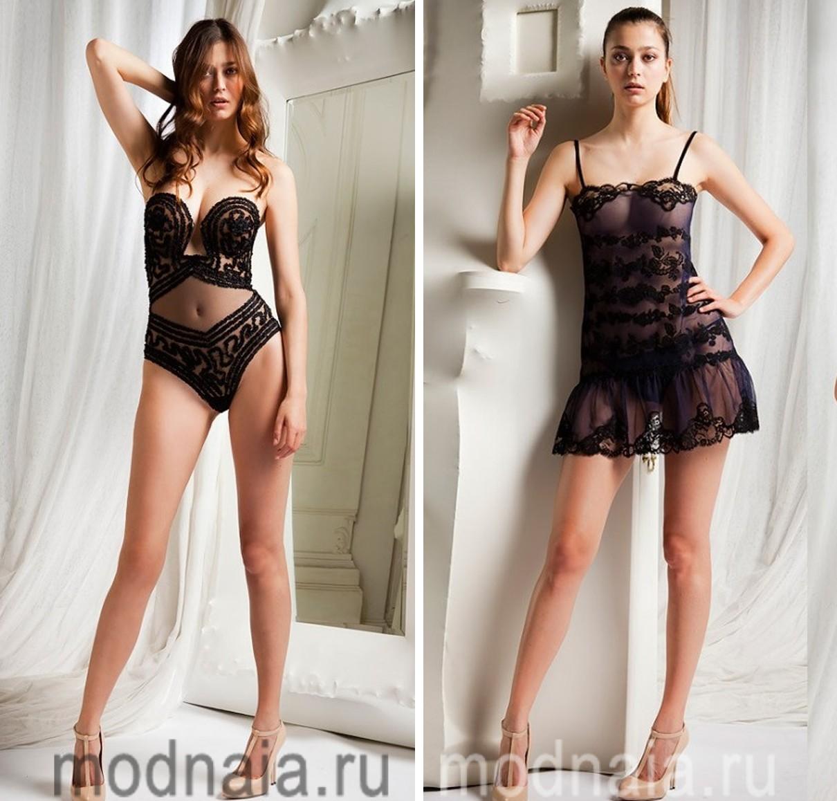 Эротика с моделями в шикарных вечерних платьях 9 фотография