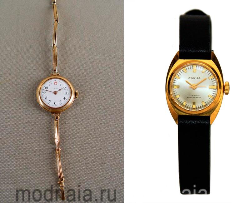 часы золотые женские цена