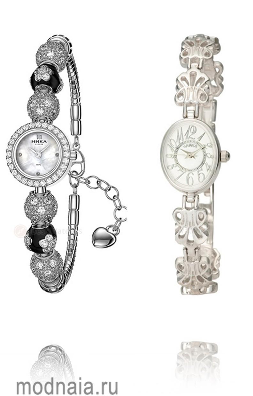 часы серебряные женские купить