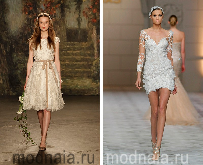 Платья Для Свадьбы Вечерние Короткие