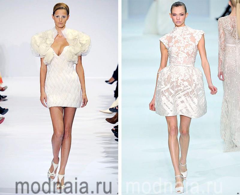Короткие вечерние платья— эталон стиля, 30 фото