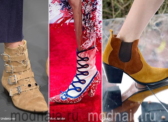Модная женская обувь 2016