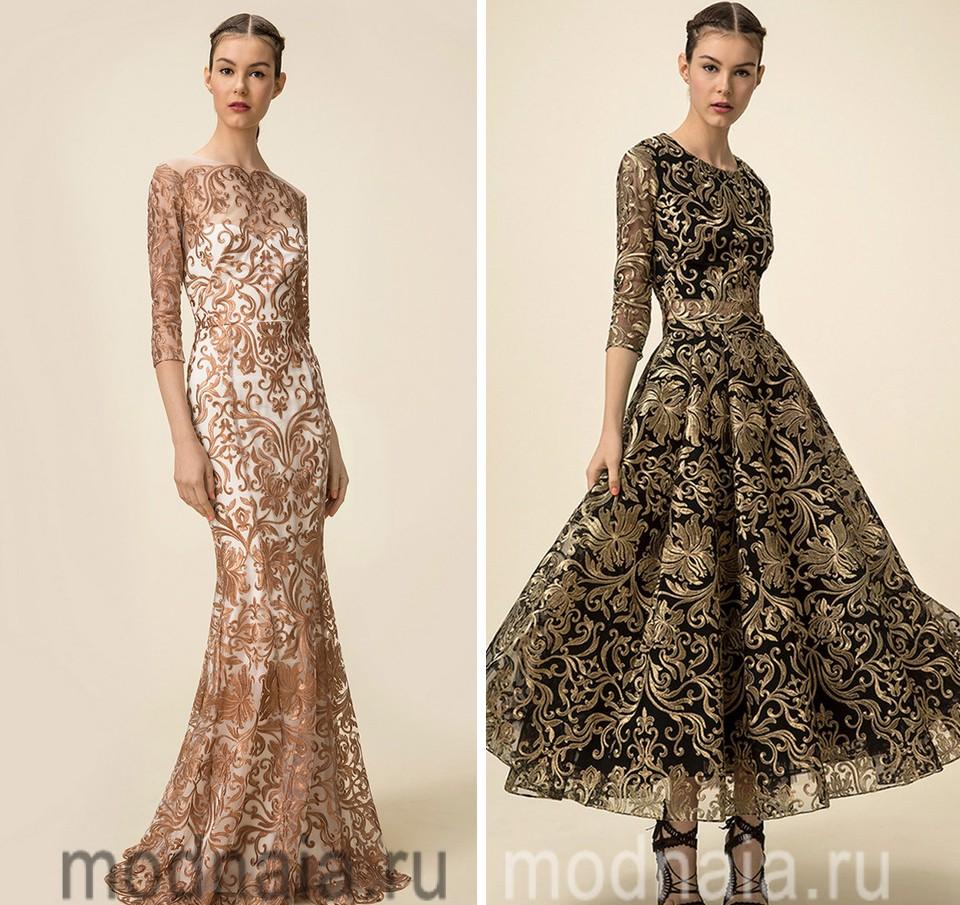 46343a5cb88 Вечерние платья в пол – беспроигрышный вариант для праздника ...