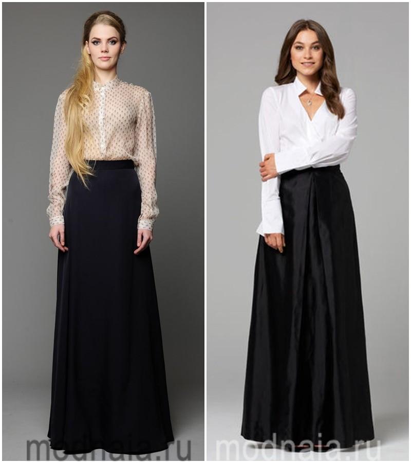 Длина юбки деловой женщины должна быть