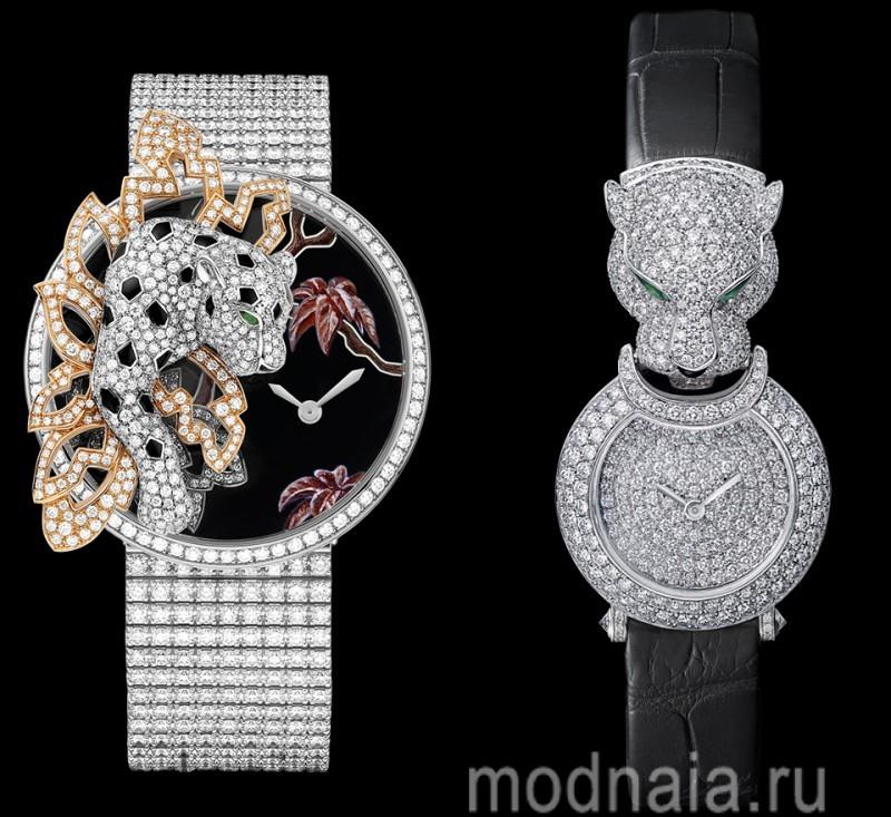 часы женские с браслетом фот