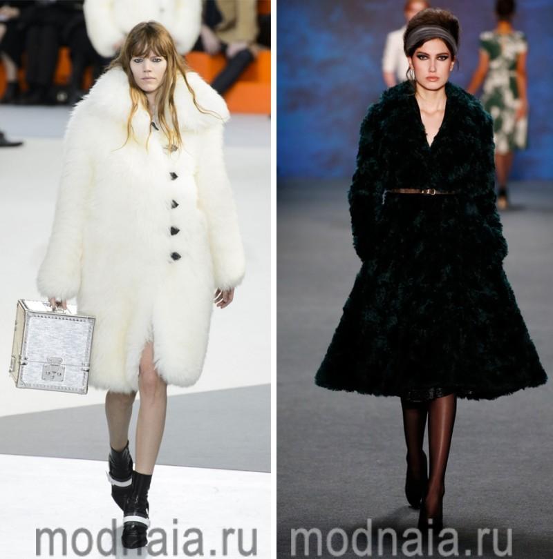 модные шубы зима 2017 4