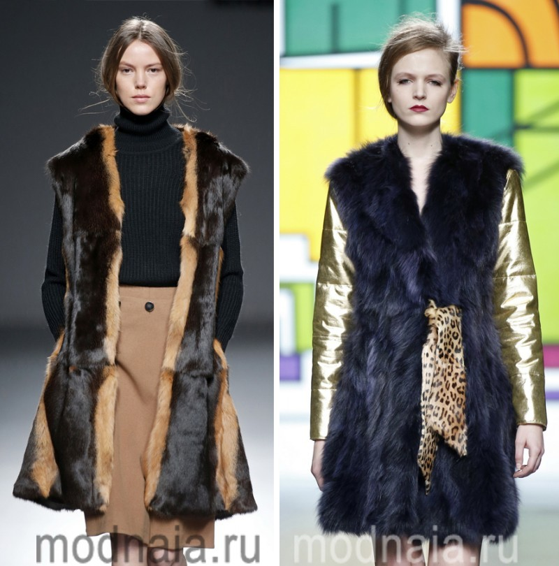 модные шубы зима 2017 5