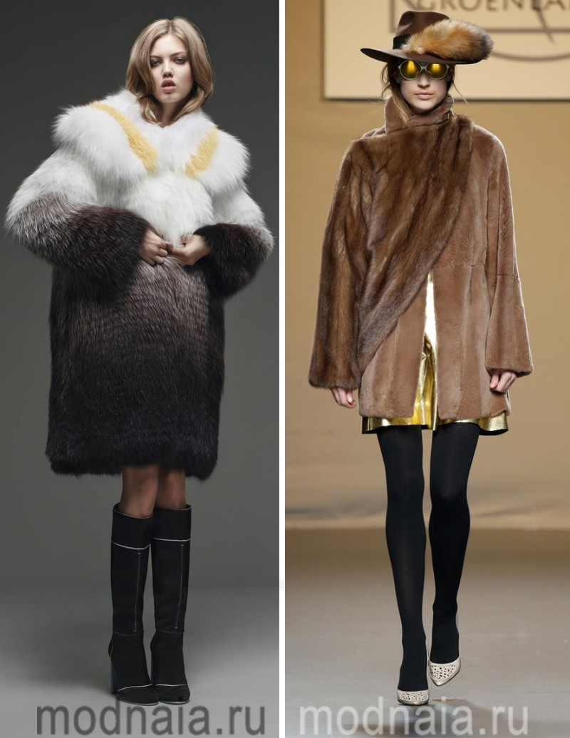 модные шубы зима 2017 6