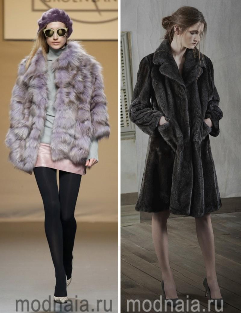 модные шубы зима 2017 7