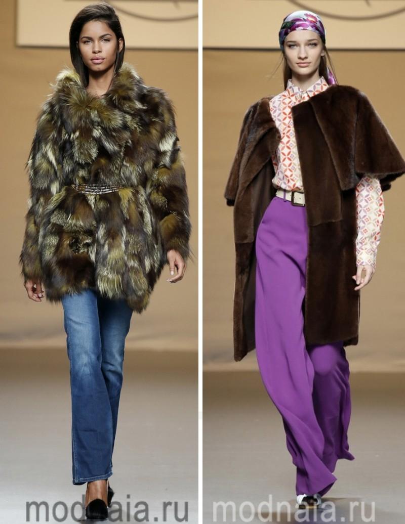 модные шубы зима 2017 8
