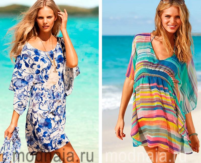 пляжные туники фото