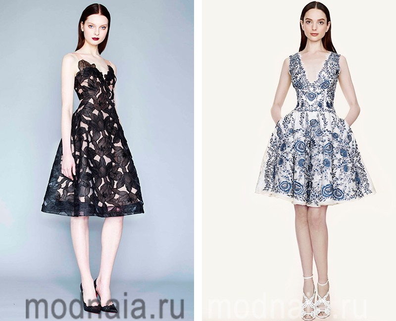 модные платья новинки