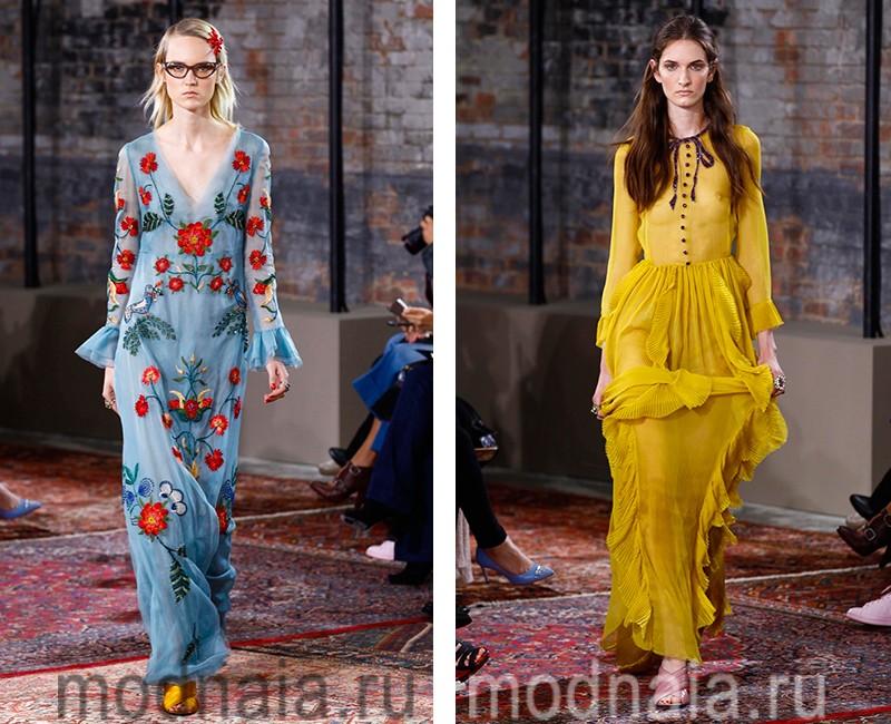 03073864878 Модные платья весна лето 2016 года  фото