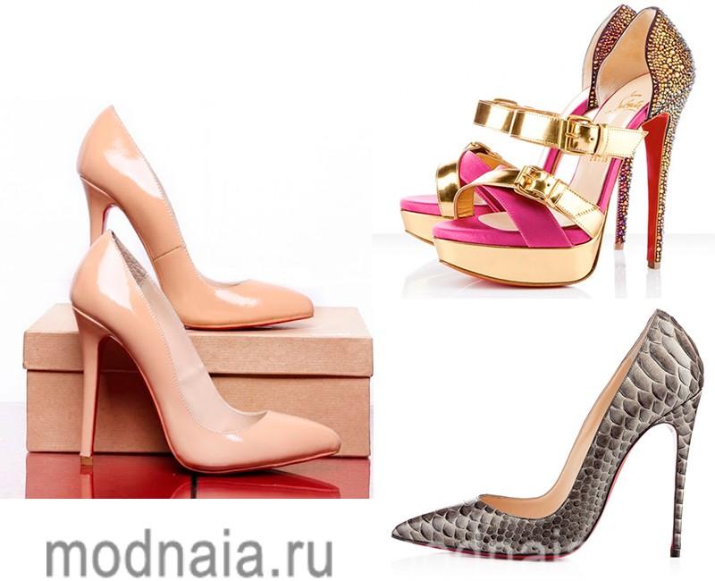 обувь лабутен