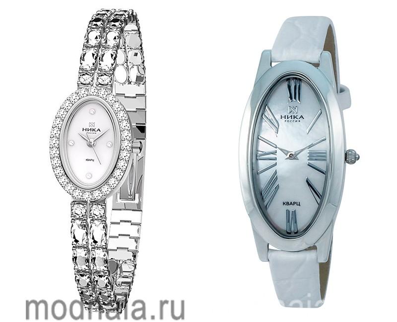 серебряные часы женские