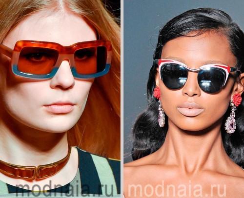 Стильные очки солнцезащитные женские
