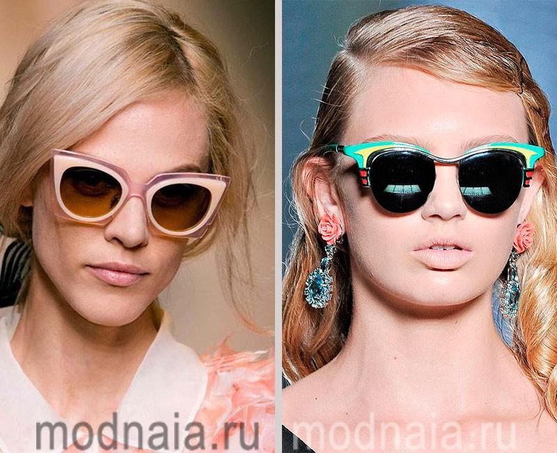Модные женские солнцезащитные очки сезона 2016. Фото лучших моделей