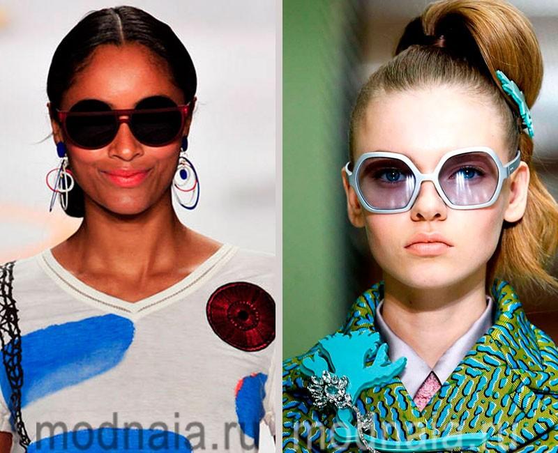модные очки солнцезащитные 2016 фото женские
