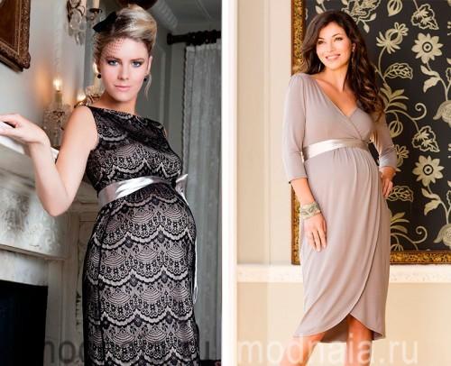 Фото красивые платья на беременных фото 100