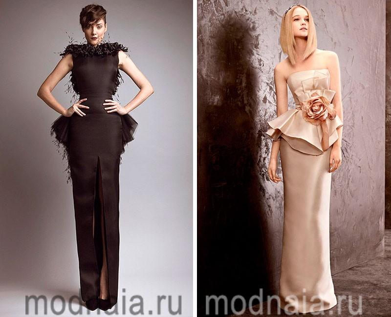 длинные вечерние платья 201