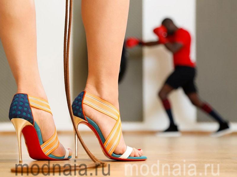 кристиан лабутен туфли