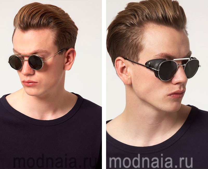 Ray ban black mirrored aviator