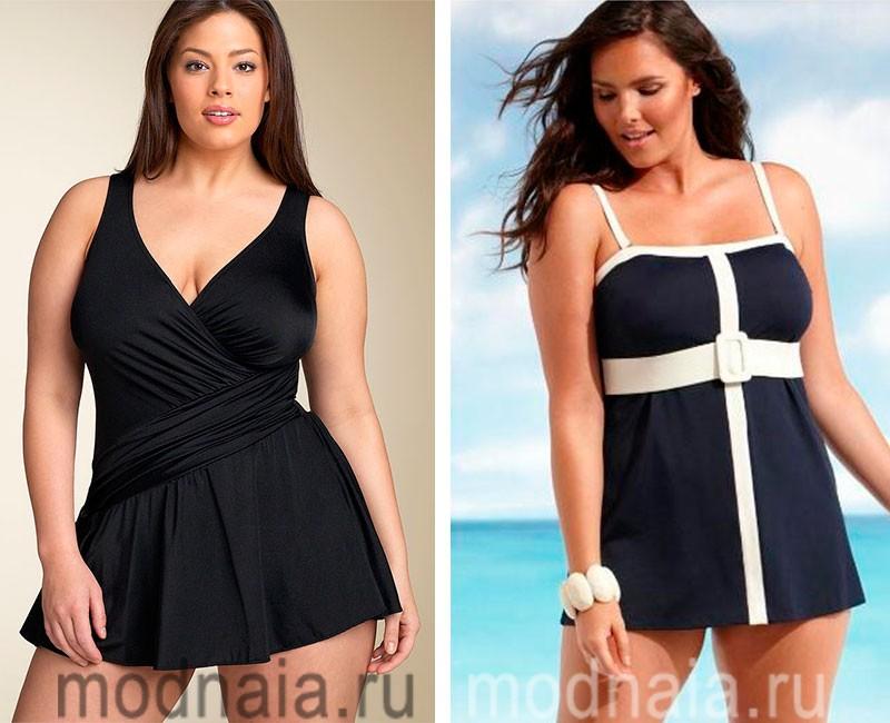 Купальник Платье Для Полных Женщин Купить