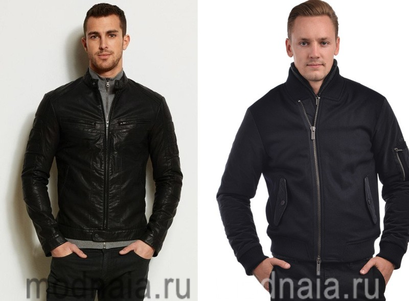 Мужские куртки осень