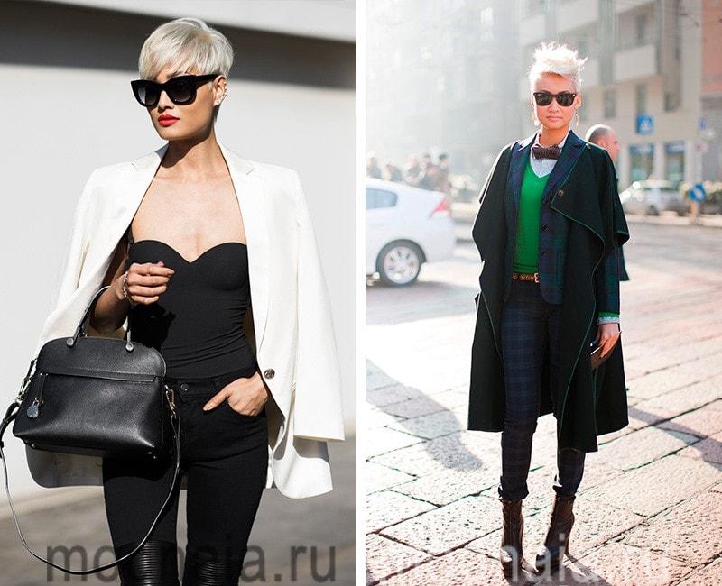 модные короткие стрижки 2017 фото женские