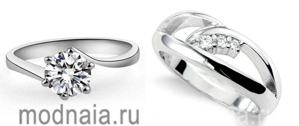 Серебряные кольца – хорошая альтернатива золотым