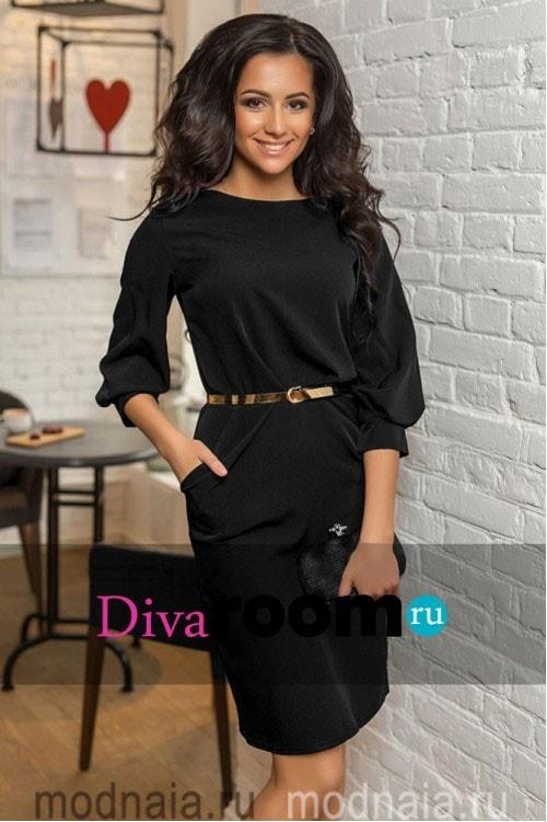 стильное деловое платье Claudia