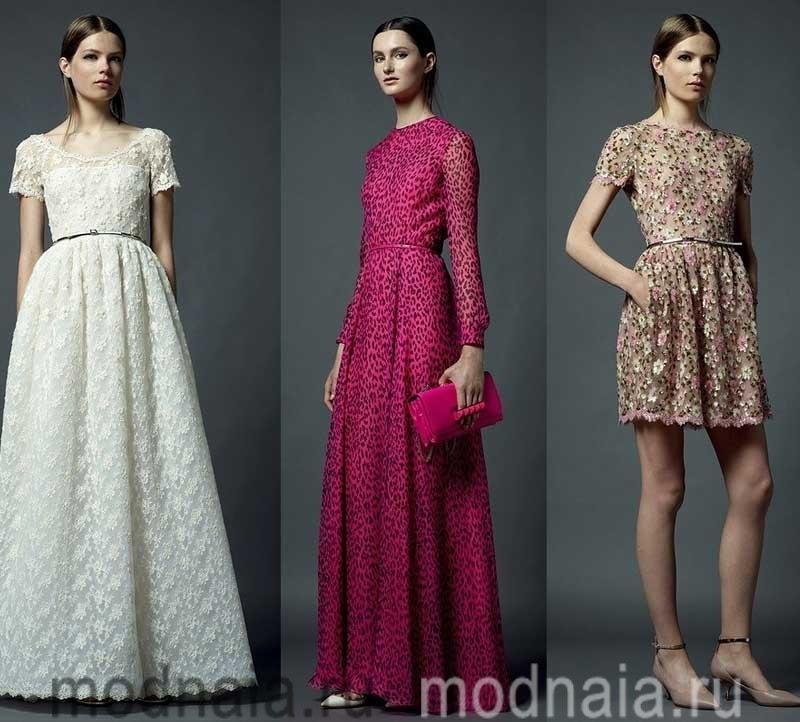 вечерние платья от Валентино