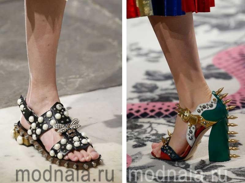Модная весенняя обувь 2017, фото женских моделий с лчшими дизайнерскими идеями