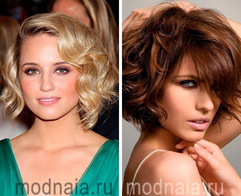 Стильные стрижки 2017 года женские на волнистые волосы