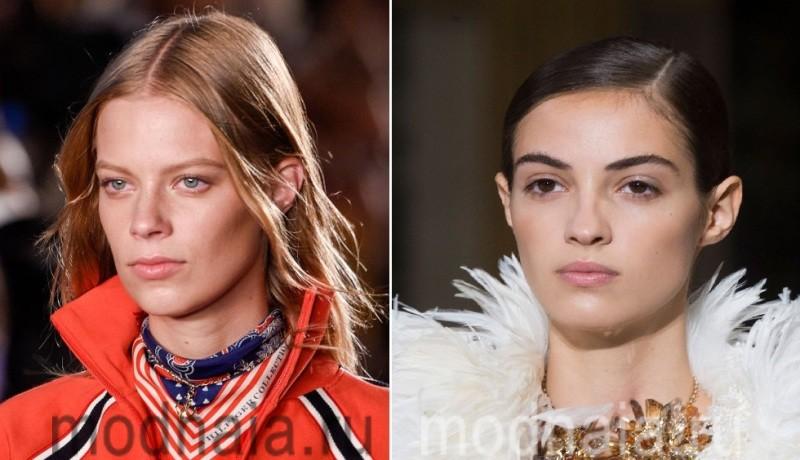 Естественные брови - актульный тренд в макияже 2017