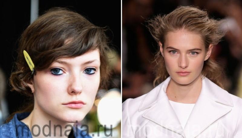 Акцент на глаза, стрелки в макияже сезона весна-лето 2017