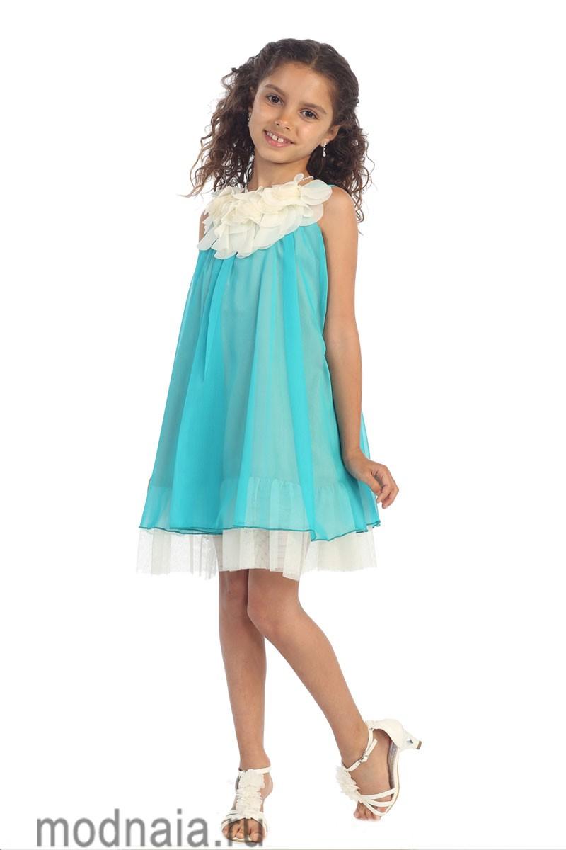 детские платья на выпускной 2017