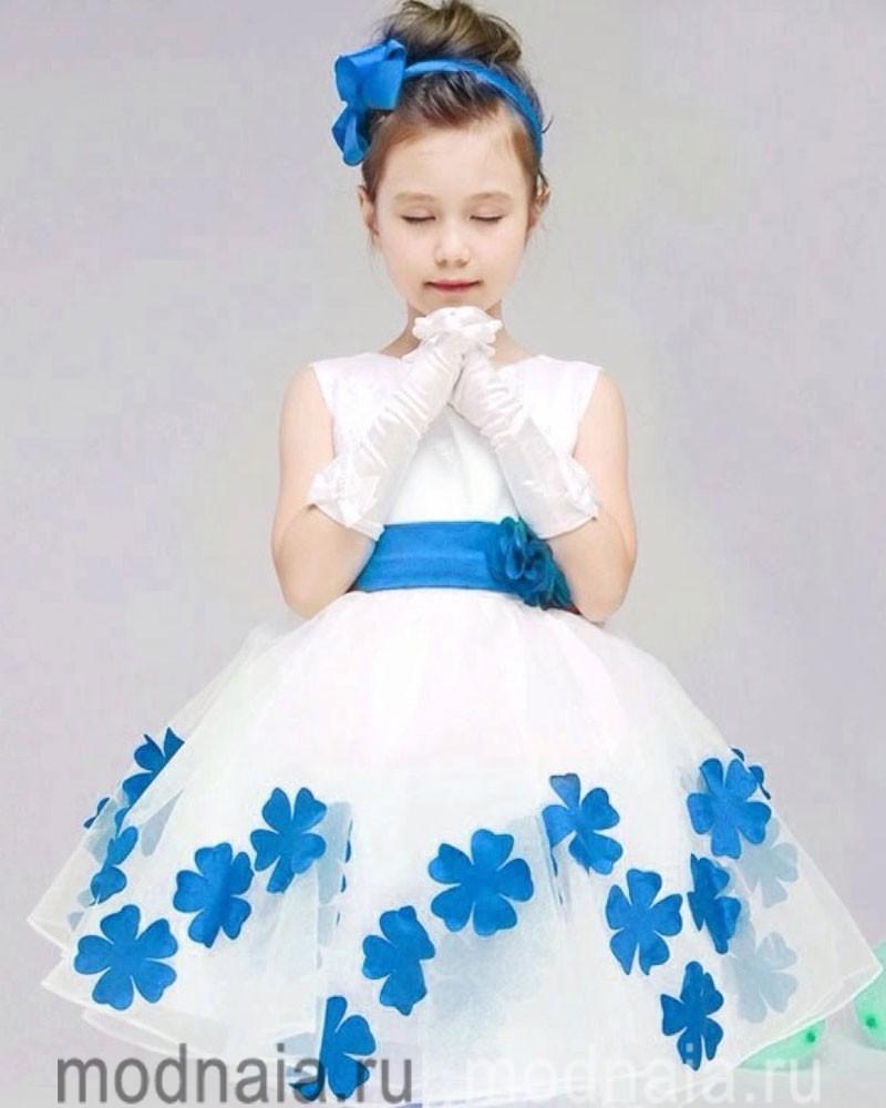 детские платья на выпускной в детском саду и школе
