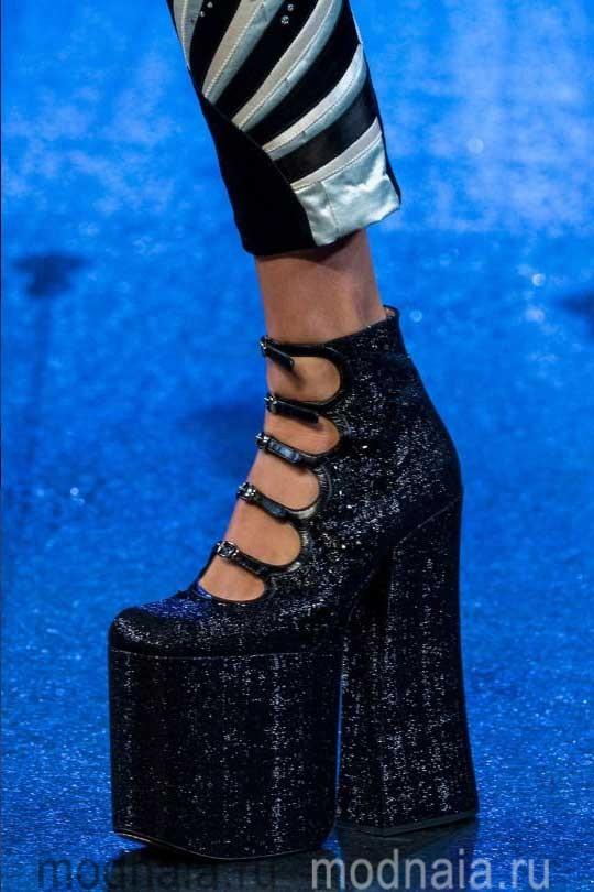 Обувь осень 2017, модные тренды на фото Гуччи