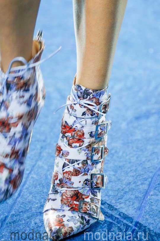 Женская обувь сезона осень 2017 года – модные тенденции с фото