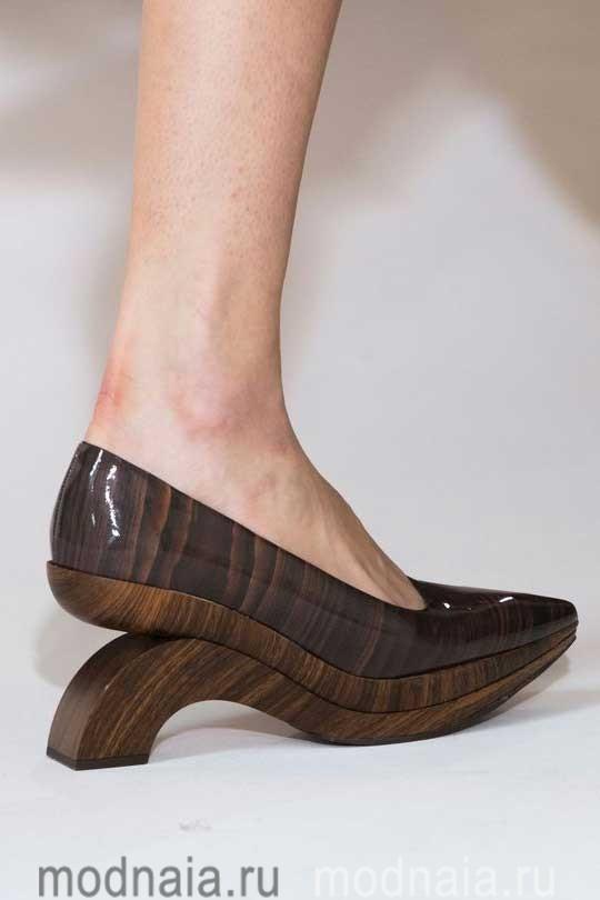 модная обувь осень 2017 декоративный дизайн