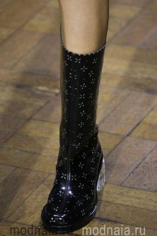 Модная обувь осень 2017 интересные фасоны с фото