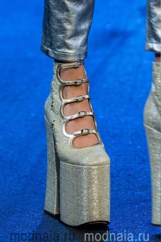 Модная обувь осень 2017 в стиле ретро