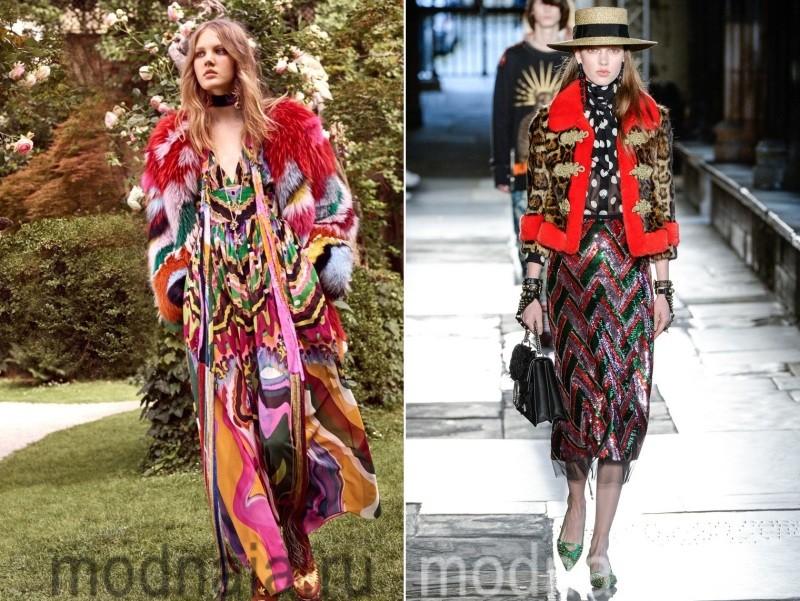 Меховые куртки женские весна 2017
