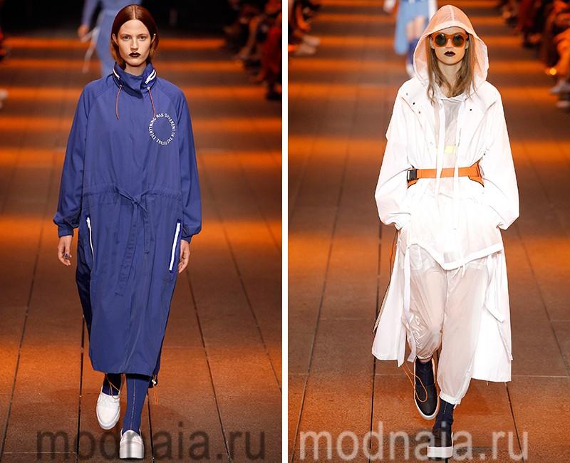 стильные куртки весна 2017 и плащи оверсайз модные фасоны фото