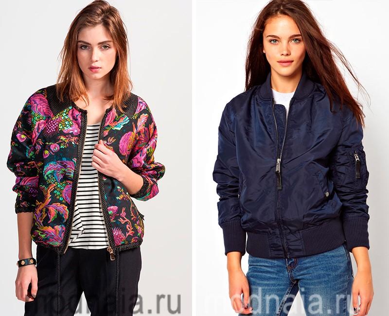куртки весна 2017 женские фото