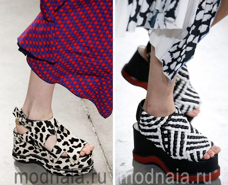 модная обувь 2016 2017 фото женская