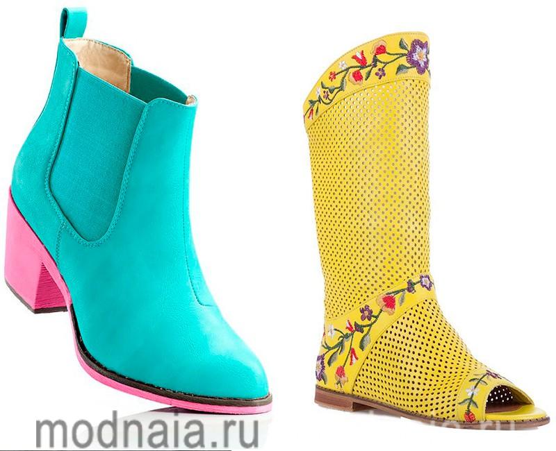 модная обувь лето 2017 женская