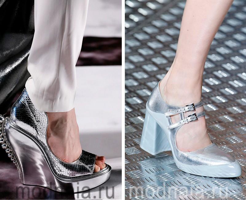 Модная женская обувь для лета 2017 года