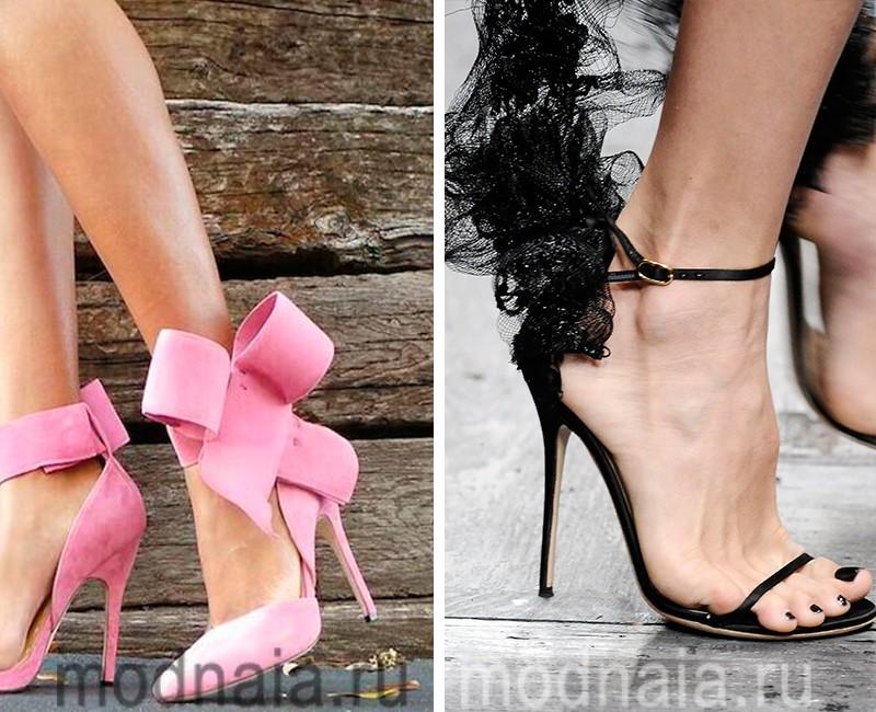 самая модная обувь лето 2017 романтичная